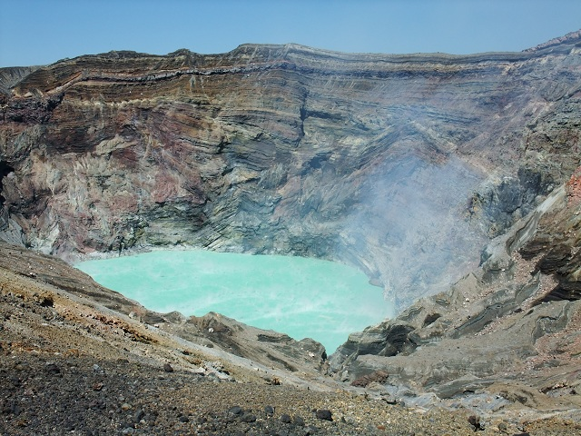 Mount Aso Volcanoes and Natural Geysers