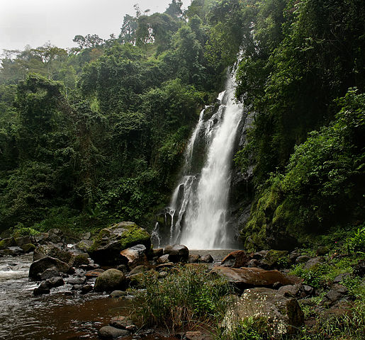 Mount Kilimanjaro waterfalls
