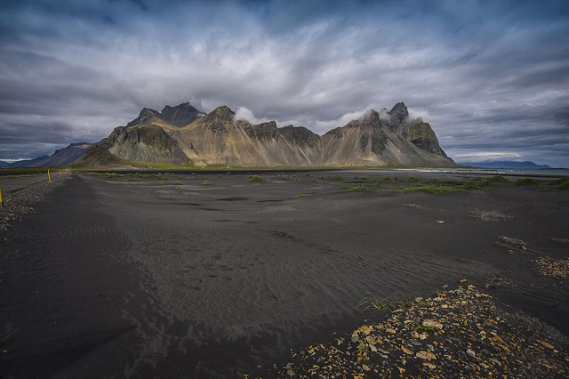 Stokksnes Black Sand Beaches