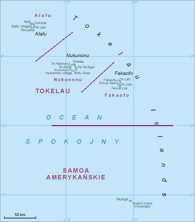 Tokelau Atolls