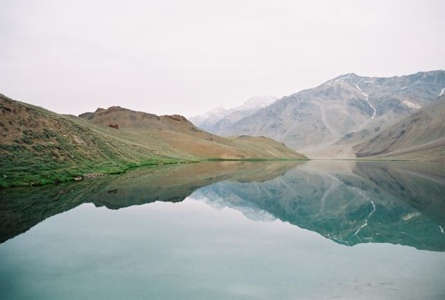 Alpine Lakes in India Chandra Taal