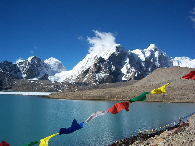 Alpine Lakes in India Gurudongmar