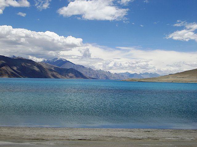 Alpine Lakes in India Pangong Tso