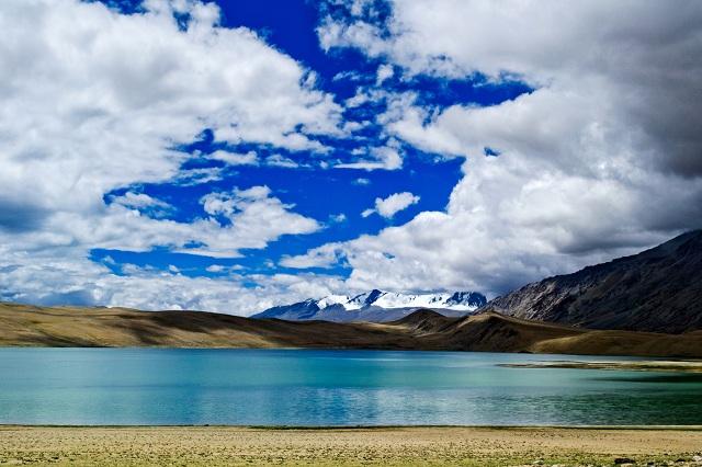 Alpine Lakes in India Tso Moriri