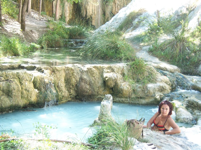 Bagni San Filippo natural hot springs