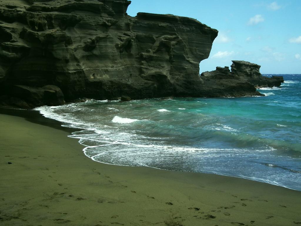Green Sand Beaches