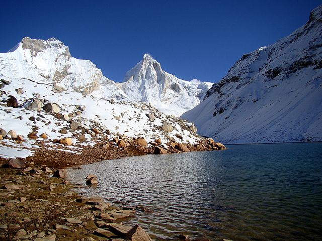 Alpine Lakes in India KedarTaal
