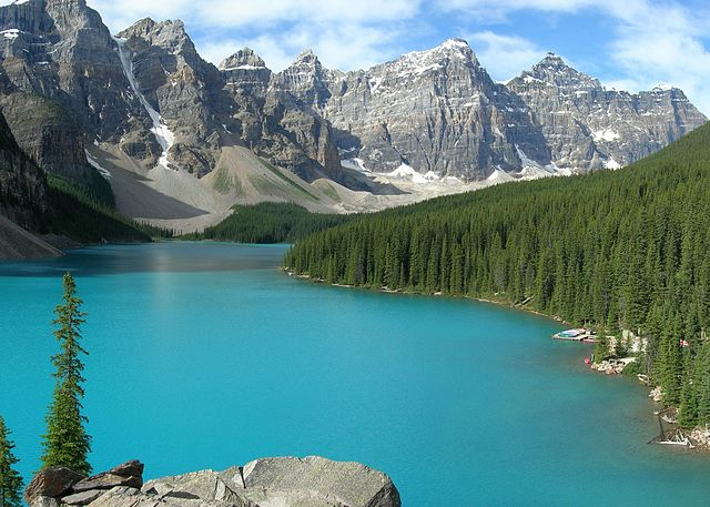 Alpine Lakes Moraine Lake