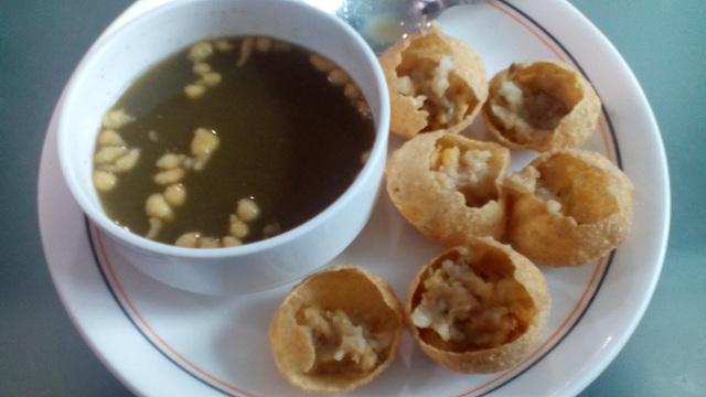 Foods of Delhi Pani Puri