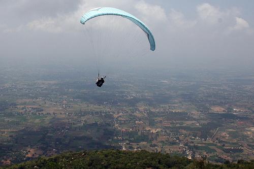 Paragliding yelagiri