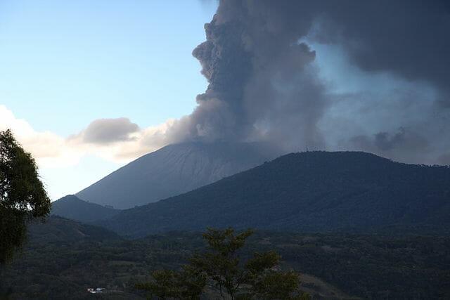 San Miguel volcano, El Salvador