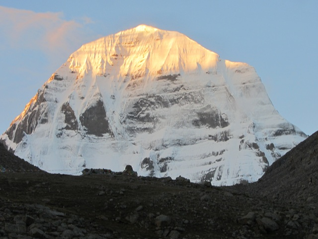 Unclimbed Mountain Peaks Kailash