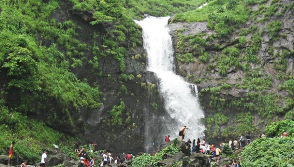 Waterfalls near Mumbai Bhivpuri