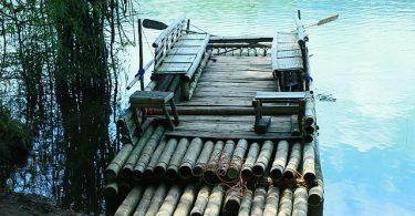 Bamboo Rafting Parambikulam Tiger Reserve