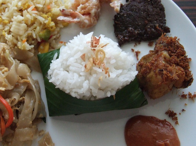 Indonesian Foods Nasi Uduk