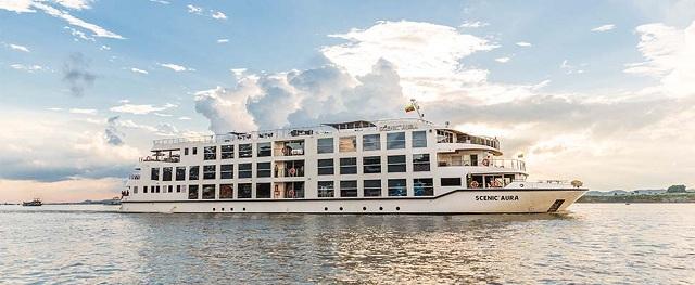 scenic aura Irrawaddy River Cruising