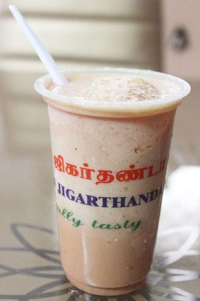 Dessert of Madurai City Jigarthanda