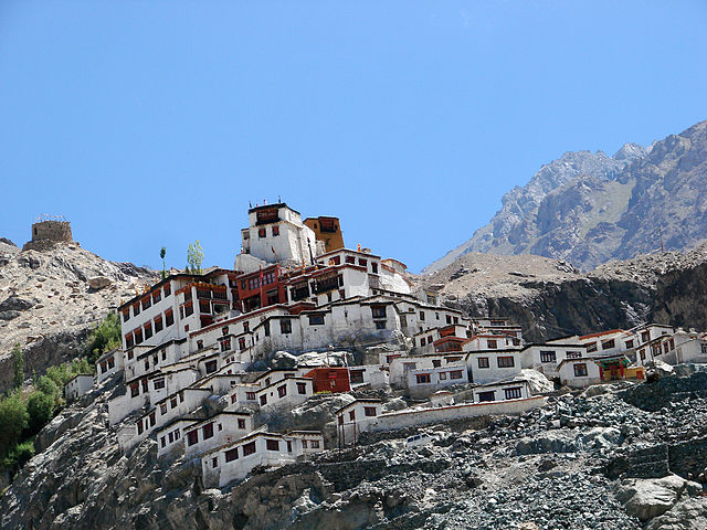 Diskit Monastery, Pangong Lake