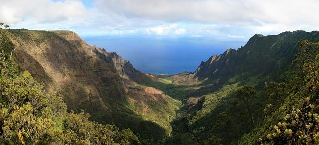 Kalalau Valleys, Hawaii
