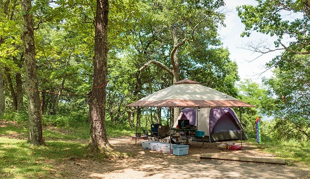 Shenandoah National Park camping grounds