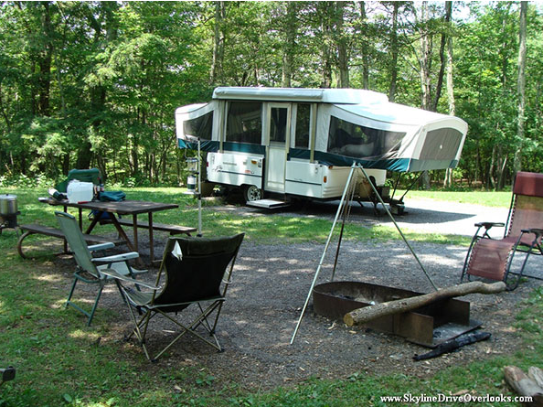 Skyline Drive Camp grounds