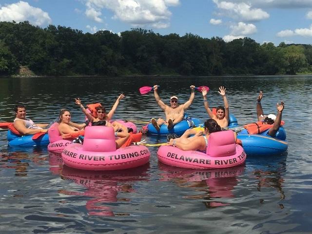 River Tubing Delaware