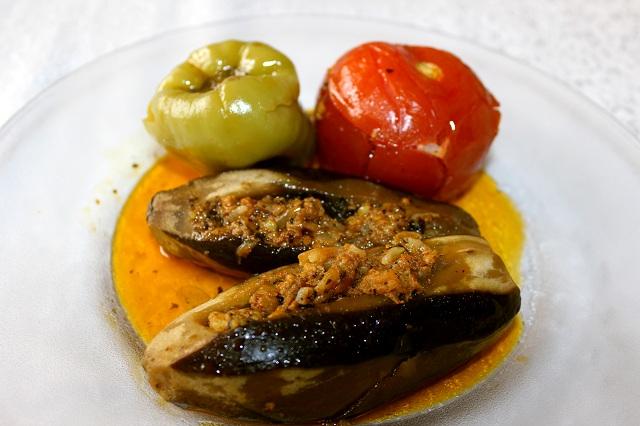 Greek food Dolma