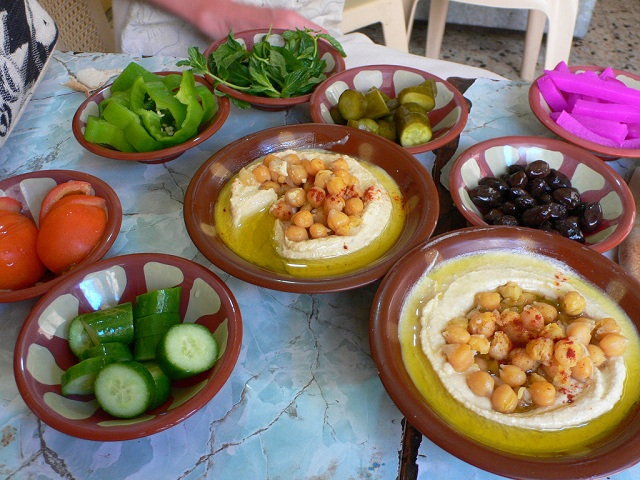 Greek food Mezze