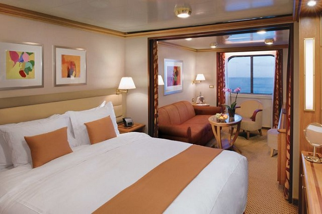 Silversea Cruise Lines suite