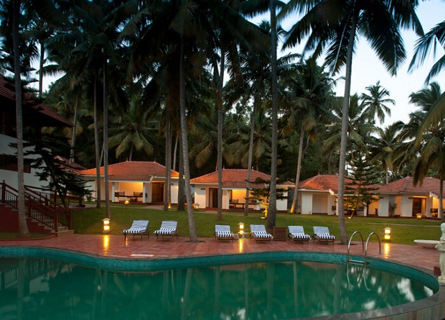 at Estuary Island Resort Poovar Island