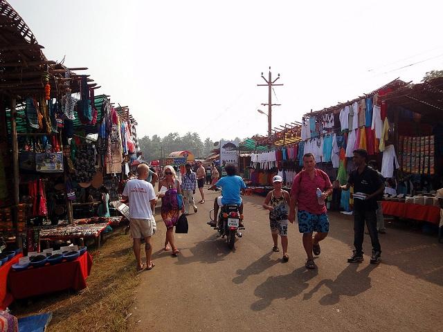 Flea Market Anjuna Beach Goa