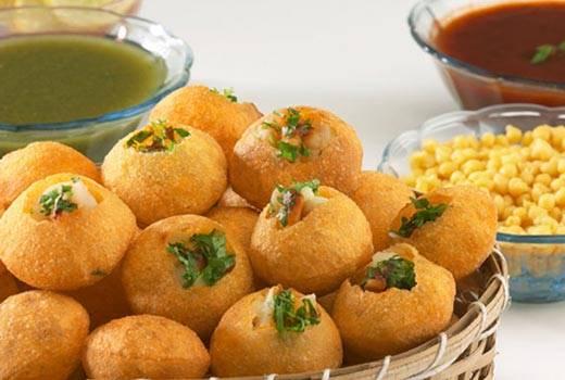 Pani poori Street Foods in Jaipur