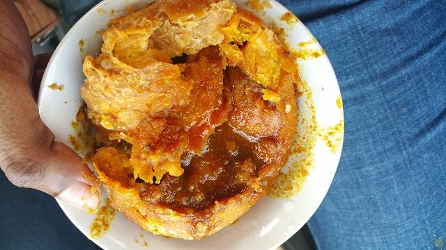 Pyaaz Kachori Street Foods in Jaipur