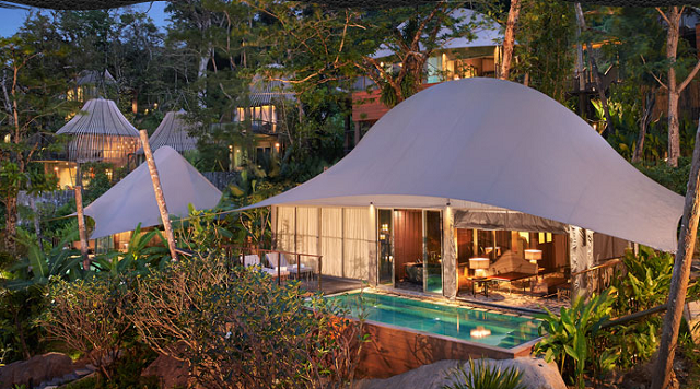 Tent Pool Villas Keemala Treehouse Resort