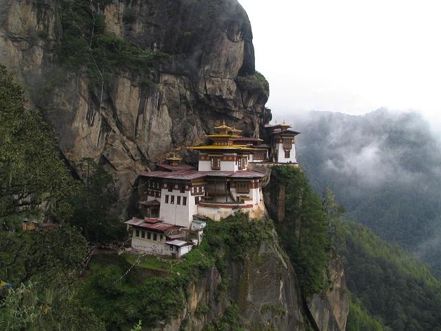 Tourist Destinations Paro Taktsang Monastery
