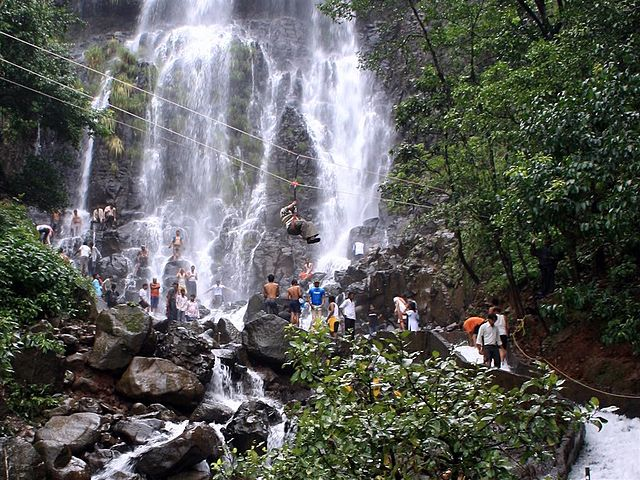 Breathtaking Amboli Waterfalls near Goa