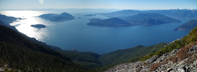 Howe Sound Fjords