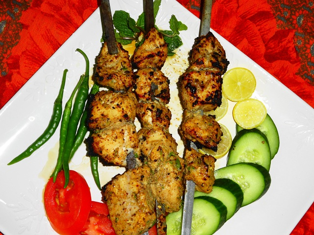 Hyderabad Street Food Boti Kebab