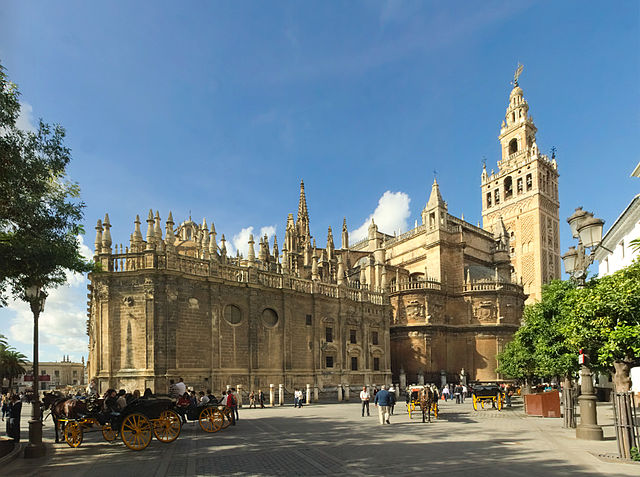cathedral of st mary, Seville