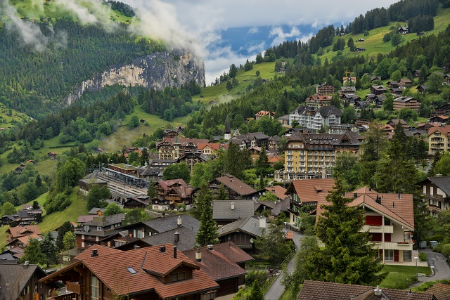 Beautiful Villages Wengen