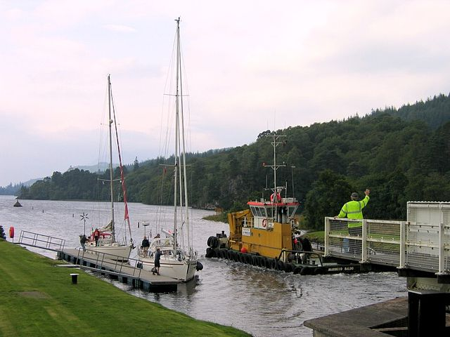 Barge Cruise in Caledonian Canal
