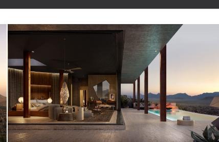 Unique Hotels Desert lodge