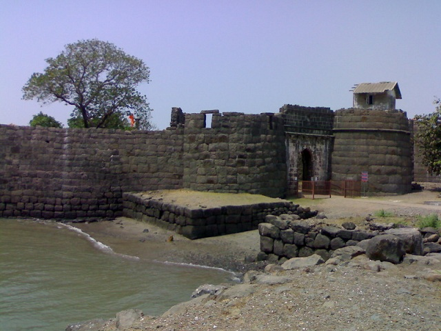 Fort at Kolaba Beaches in Alibaug