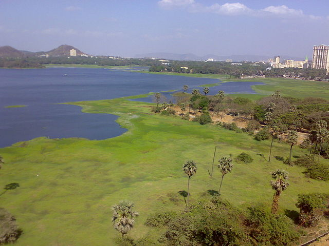 Lakes near Mumbai Powai Lake