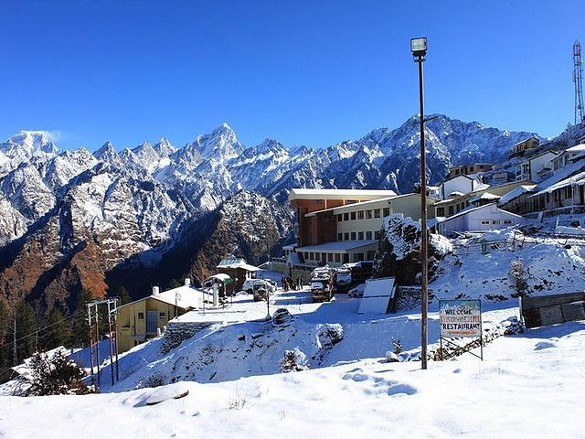 Auli,Less Crowded Summer Escapes in North India