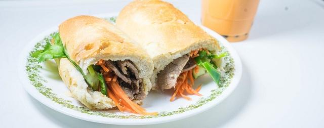 Laotian sandwich