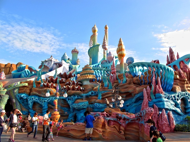 Tourist Attractions in Tokyo Disney Sea