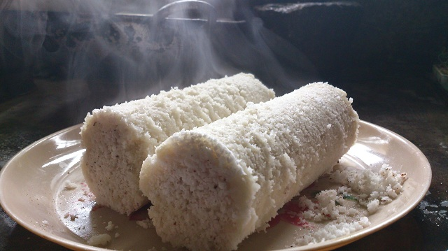 Kozha puttu Coorg at Night dinner