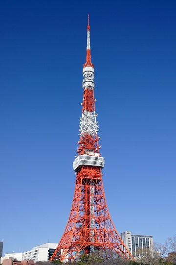 Land mark tourist attractions in Tokyo- Tokyo tower