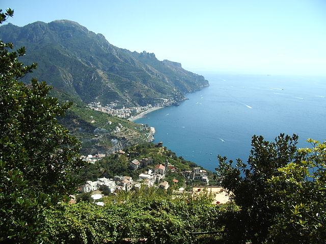 Scenic Highways Amalfi Coast